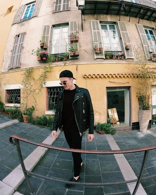 Arnold Sloboda - Callahan Leather Biker Jacket