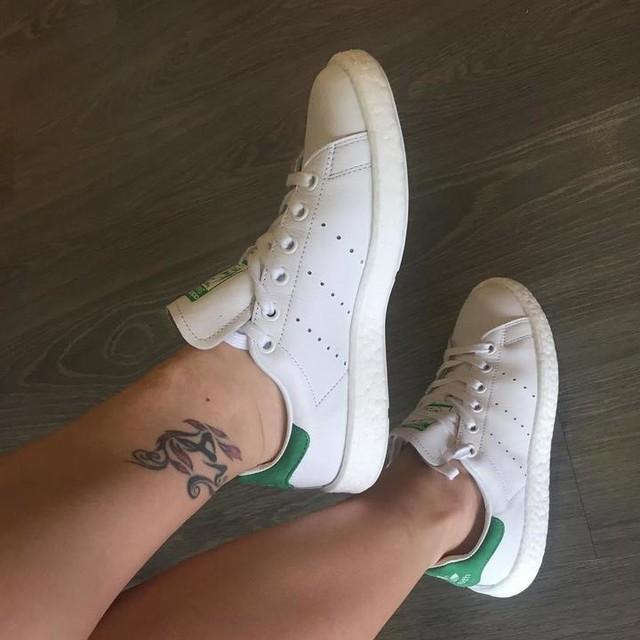 上腳! BJ4 #adidas#stansmith#boost#white#comfort#vintage#bj4