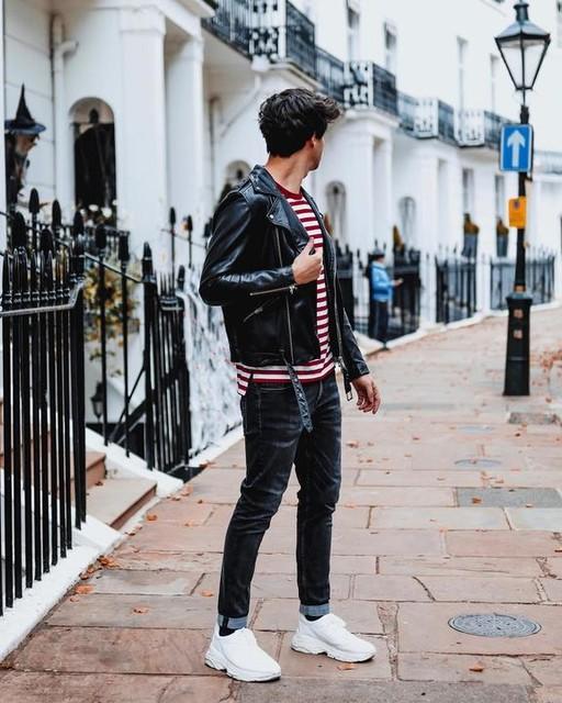 itsjamesadams - Wick Leather Biker Jacket