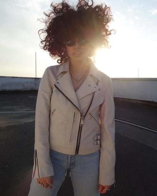 D I L A N  ? Дилан - Prescott Leather Biker Jacket