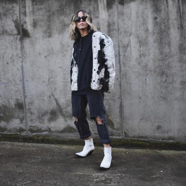 teganwhybrow - Nora Tie Dye Jacket