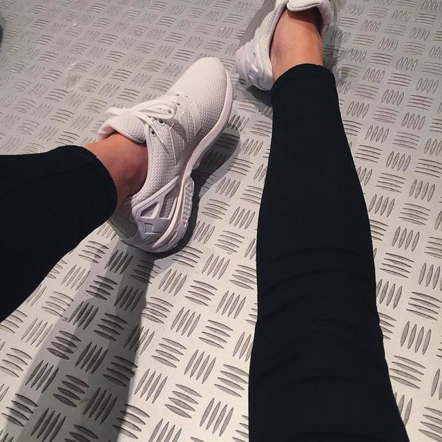 zx #adidas #zxflux #allwhite #crepcheck