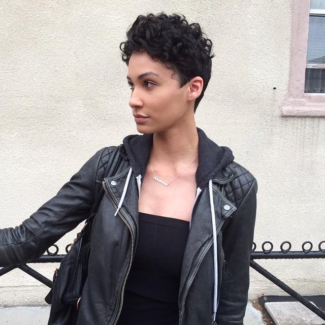 Shanna McGuire - Cargo Leather Biker Jacket