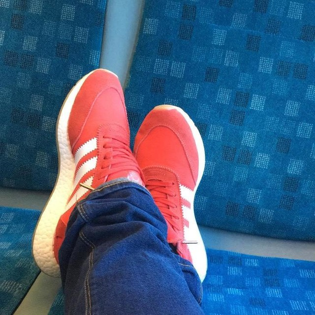 Fit check ! Adidas INKI and super dry jeans on the bus possibly one of the worst days  #adidas #adidasboost #boost #inki #inkirunner  #shoes  #red #threestripes  #thesolesupplier  #boostvibes  #superdry  #superdryjapan  #superdrystore  #thebrandwiththethreestripes  #thebrandwith3stripes