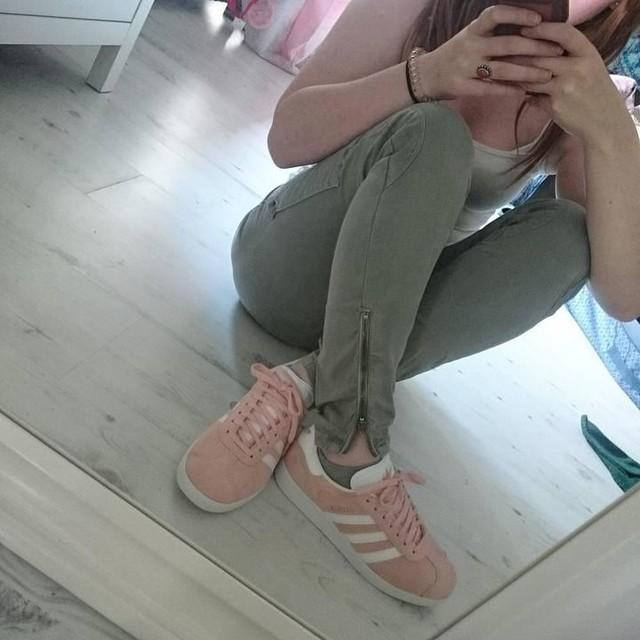 #newshoes #sneaker #adidas #adidasgazelle #rosa #traumhaft #love #schuhliebe 👟👑