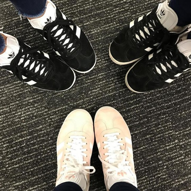 Samesies! @ninsta_bee @adidasoriginals #adidas #gazelle #adidasgazelle #adidasoriginals
