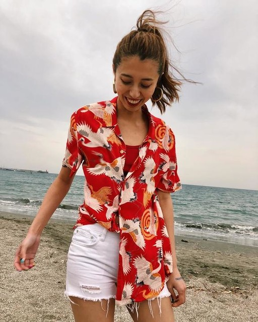 - Camicia Tsuru