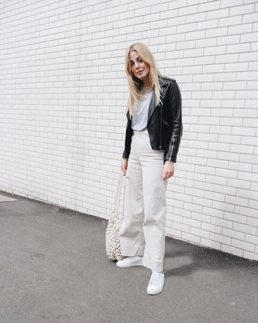 glameramo - Balfern Leather Biker Jacket