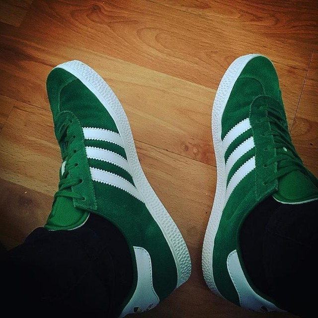 New to the collection ✅ #adidas #Gazelle #Green