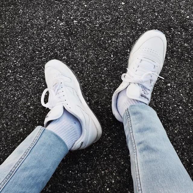current favs 👟  _______________________________________________  #styleblogger #fashionblogger #fashion #mensfashion #menwithfootwear #fashionblog #styleblog #fblogger #menswearblog #menswearblogger #menswear #allblack #minimal #monochrome #highfashion #lookbook #ootd #blogger #hm #streetwear  #shareyourstyle #topman #zara #accessories #minimal #swissblogger #tamil #topmanstyle #blogger_de #reebokclassic