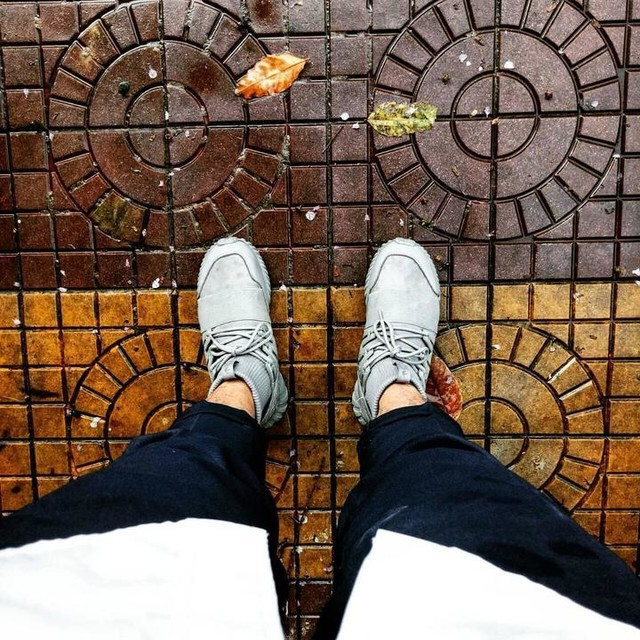 🍃🍂🍁... #050617 #rain #rainyday #hnbmg #sneakers #me #tubular #adidas #doom #fresh