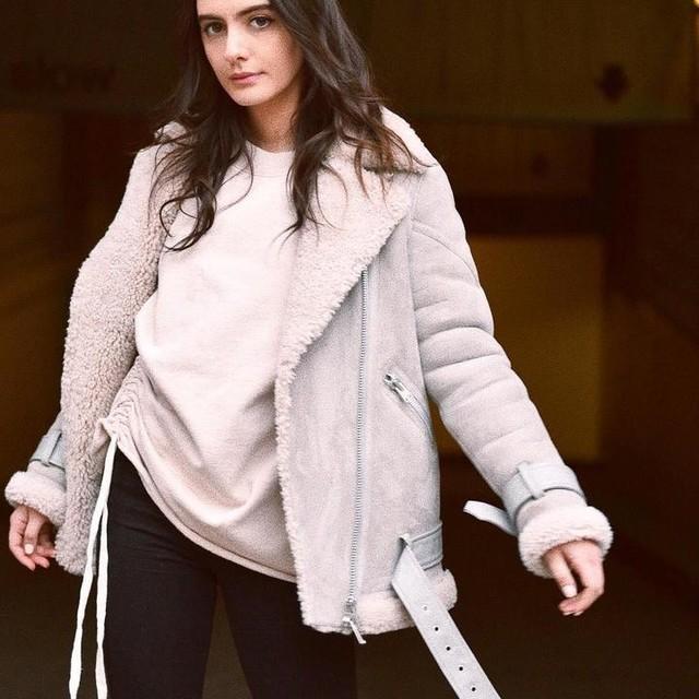 Olivia Perez - Chamarra Oversized Hawley