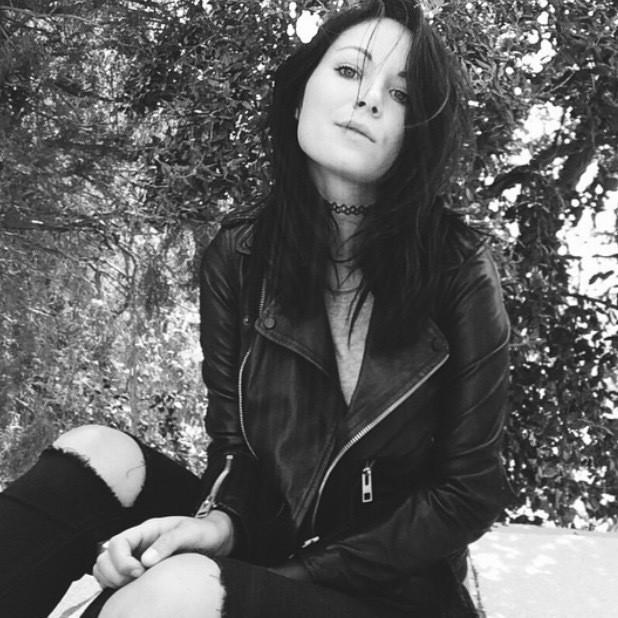 Rachael Phillips - Cazadora biker de cuero Balfern
