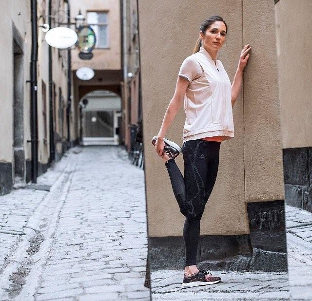 Our best #adidasrunnersstockholm coach @lisa.beskow together with the new adidas #ultraboostX running shoe make us #greatereveryrun.  In stores 22th of Feb! 🖤 (the shoe, not Lisa ☺️).