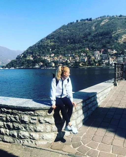 • ALL YOU NEED IS LITTLE SUN ☀️ • adidaswomen adidasathletic • #wndjacket#createdwithadidas#adidas #WND #getaway #sunny #eat #pray #love #travel #italy #lagosicomo #mood
