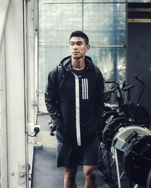 /// Geared up and ready with this W.N.D Jacket. Game day any day! . . . . . . . . . . . . . #adidasindonesia #adidasathletics #createdwithadidas #3stripesstyle