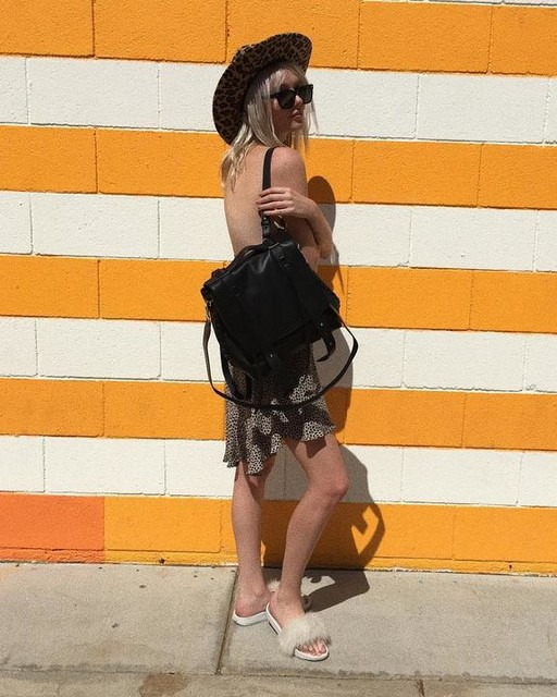 Ariel Beesley - Fin Shoulder Backpack