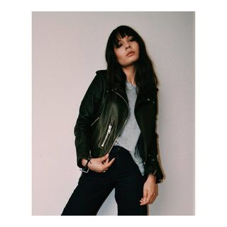 Bibiana pina - Balfern Leather Biker Jacket