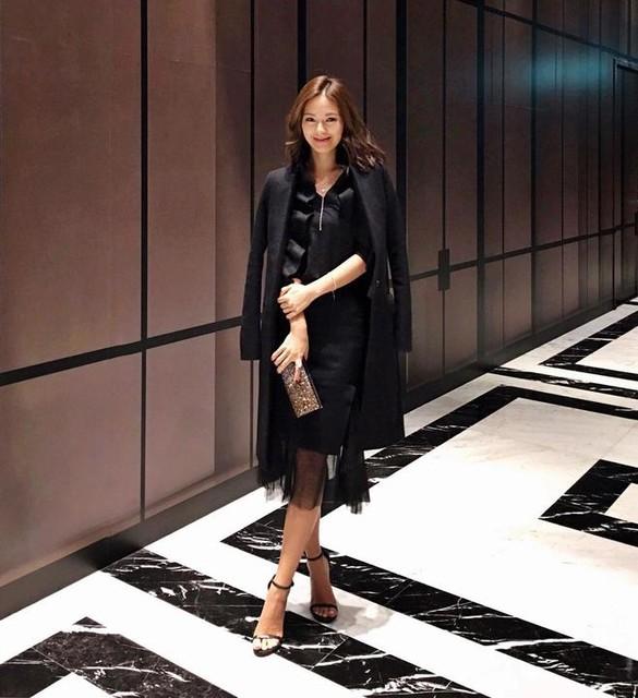 Jennifer Wei - Mae Ruffle Mantel