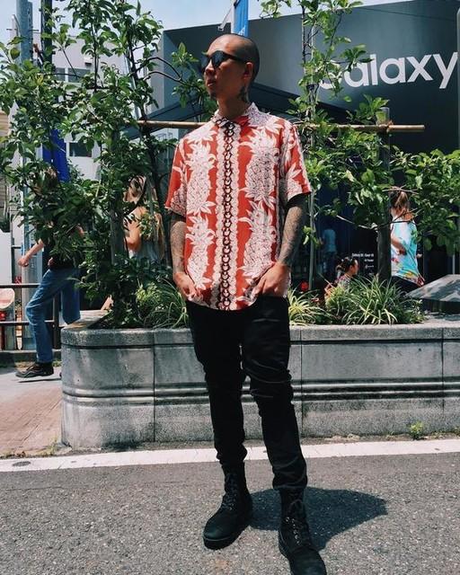 Mame - Ananas Short Sleeve Shirt